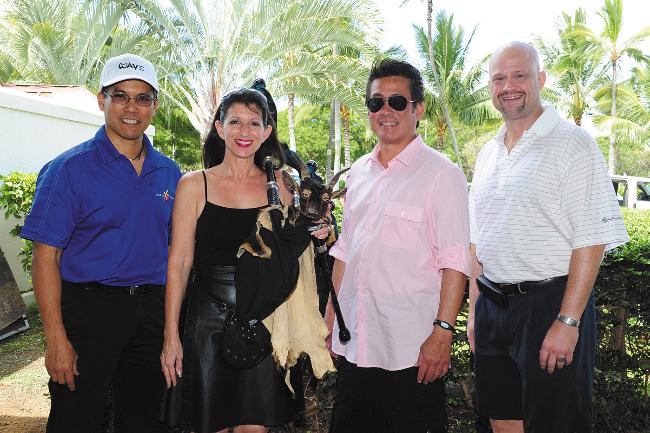 Davie Felipe, Tina Yap, Duane Komine and Ray De Smet