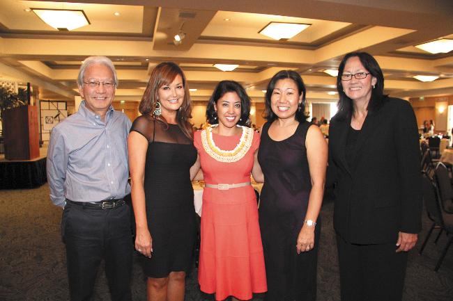 Grant Kagimoto, Elizabeth Lum, Donalyn Dela Cruz, Julie Ebato, Justice Sabrina McKenna