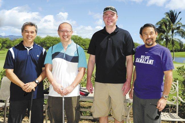 Dan Kokubun, John Lam, Stuart Blomgren and Mark Sugimoto.