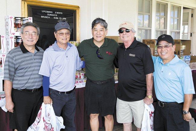 Asa Tamura, Dexter Yamada, Bruce Yokochi, Von Petrossian and Ricky Kai.