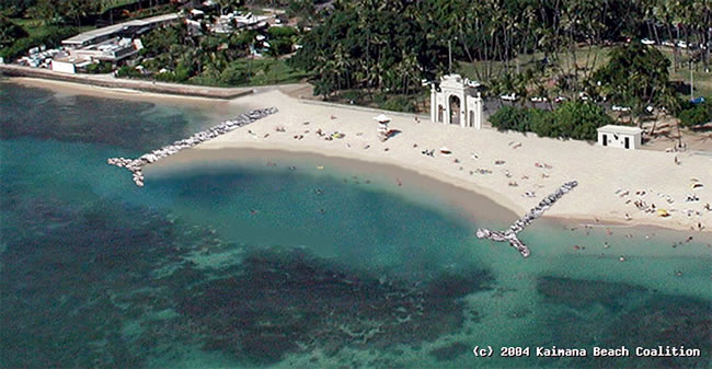 This is how Save Kaimana Beach Coalition would like to see the natatorium area