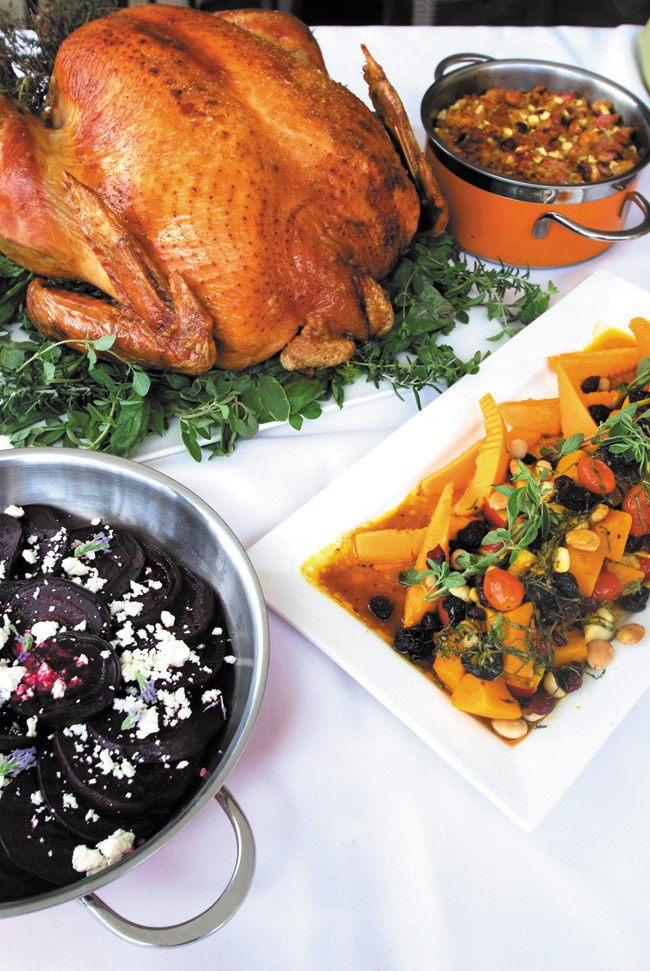 Alternatives to cooking Thanksgiving dinner are everywhere — here are just some of the offerings from Kai Market | Jo McGarry photo
