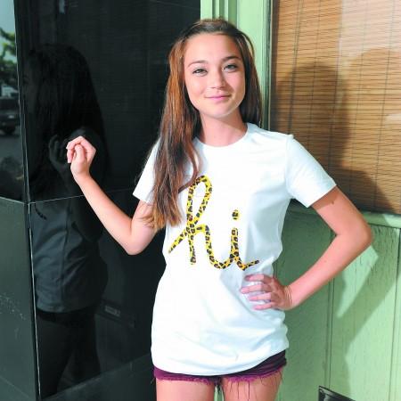 Malia Hardbarger: In4mation 'cheetah hi' women's tee $28