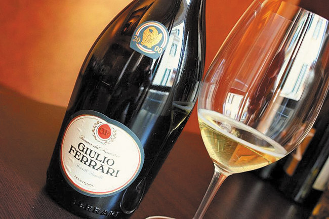 Truly one of the great sparkling wines of the world Photo from Roberto Viernes