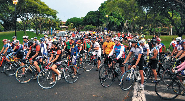 The Epilepsy Foundation's Jan. 26 event includes bikers, runners and walkers. Photo from Epilepsy Foundation Hawaii