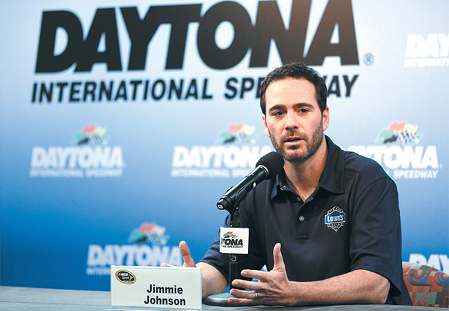 NASCAR'S qualifying change could mean more pole positions for Jimmie Johnson as he contends for a record-tying seven Sprint Cup Championships | AP photo