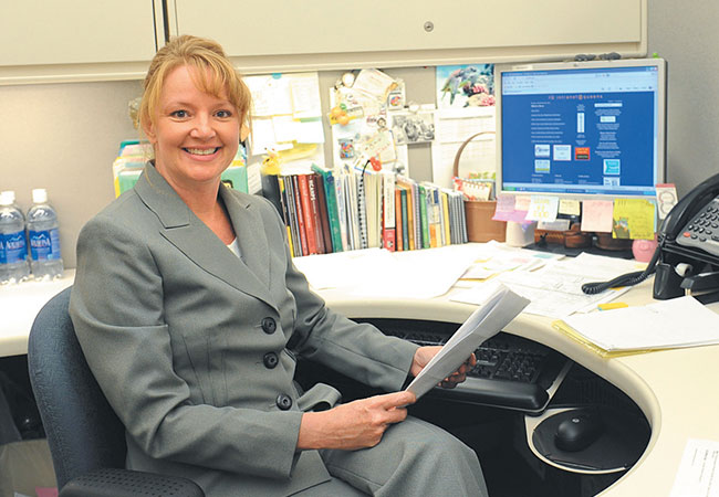 Julie Hussey, emergency department director for The Queen's Medical Center-West Oahu  |  Lawrence Tabudlo photos