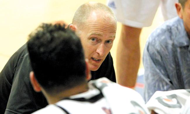 Chaminade University basketball coach Eric Bovaird. Photo courtesy Chaminade University