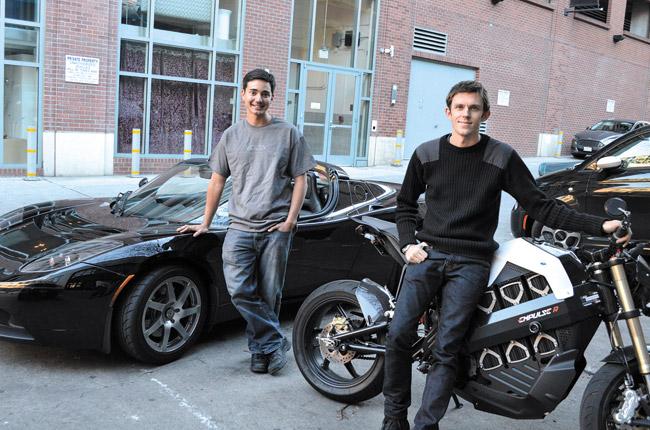 Volta Industries co-founders Michael Menendez (left) and Scott Mercer. Katarzyna Babula photo