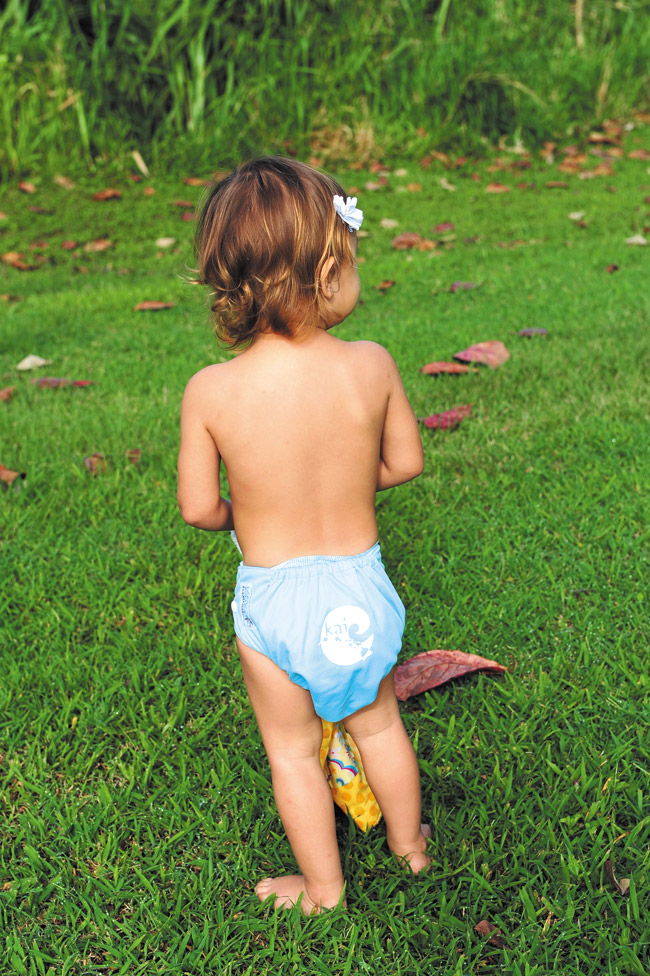 Tahina Palencia: Keiki Elements 'Kai' reusable diaper $25