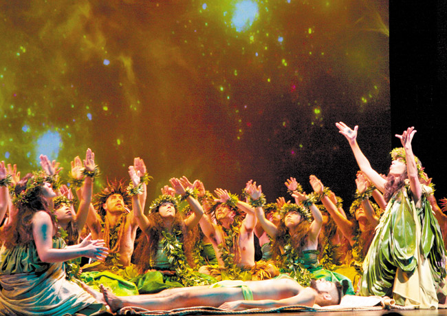 Patrick Makuakane: not your basic hula or stories | Lin Cariffe photo