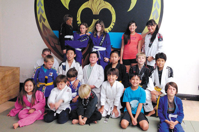 Hawaii Biz Kids combines martial arts, business and public speaking. Photo from Daynin Dashefsky