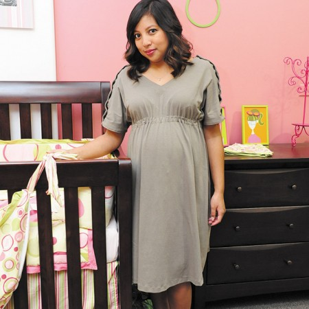 Nikie Torio: Malama Baby maternity hospital gown $55
