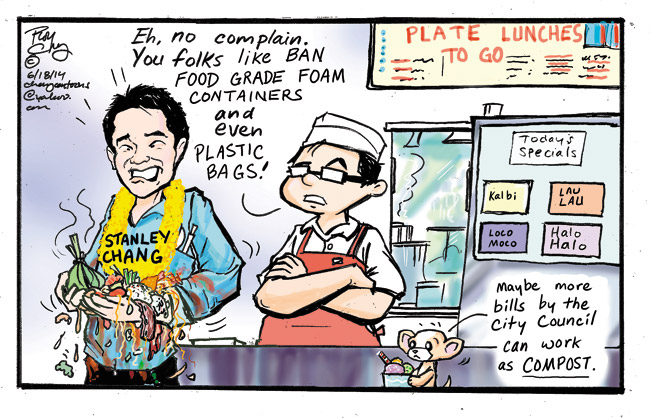 plastic bag ban, food grade foam containers ban