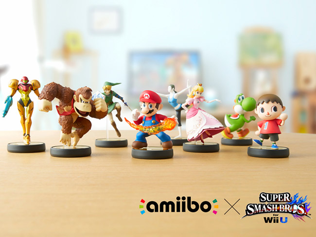 amiibo is Nintendo's toys-to-life initiative; the toys interact in different ways with Wii U games | Photo courtesy Nintendo of America