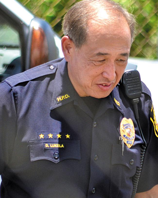 The main script line for Sgt. Duke Lukela (played by Dennis Chun) is, 'OK, Steve, whatever you say.' CBS PHOTO