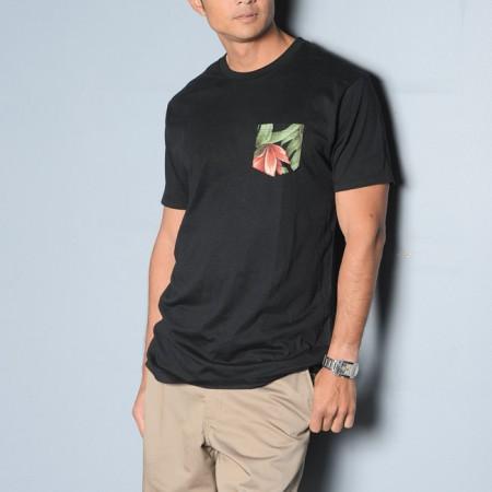 Bobby Cabino: Huf 'Waikiki pocket' Tshirt $34, RVCA 'Americana Chino' shorts $39.95 and Huf 'Waikiki box logo volley' hat $42 from T&C Surf