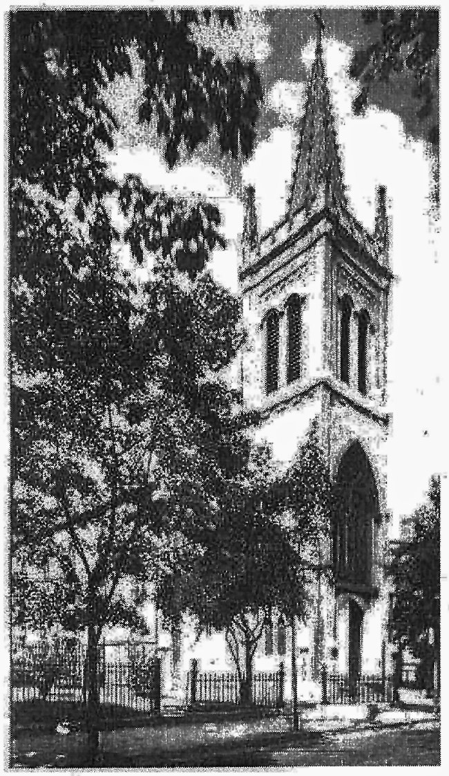 The church that inspired 'The Parish' PHOTO FROM JAN MCGRATH