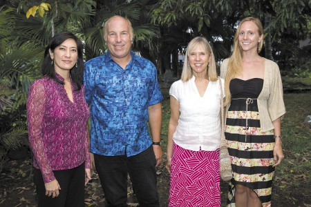 Susan Kam, Dave Segal, Joanne Hults and Kim Perez Hults.