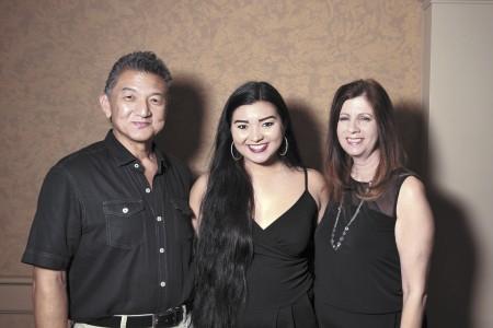 Ron Nagasawa, Briana Nagasawa, Sharon Nagasawa