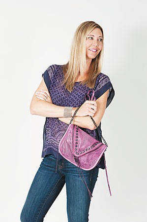 Tara Meichtry: she + lo 'Next Chapter' zip crossbody $198. Photos by Nathalie Walker.